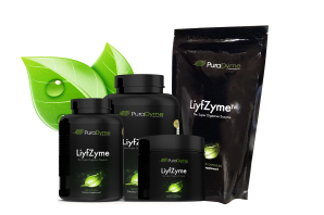 LiyfZyme Plant Based Digestive Enzymes